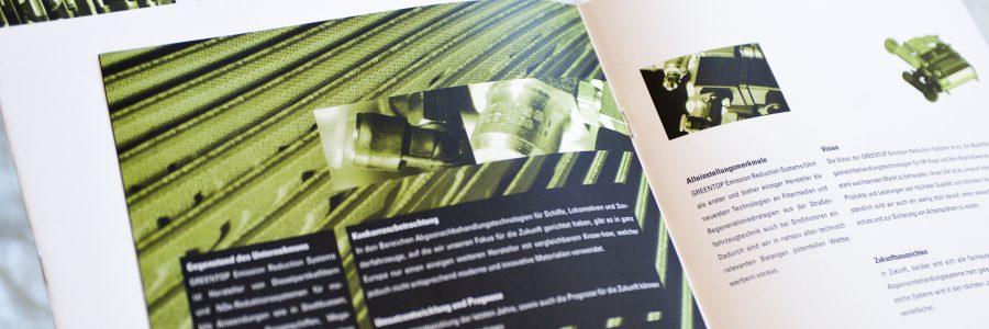 Image-Broschüre für Greentop